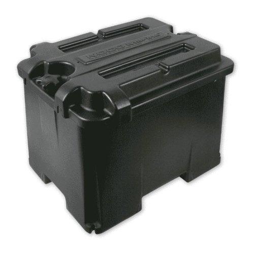 noco hm426 dual 6 volt commercial grade battery box for automotive marine and rv batteries. Black Bedroom Furniture Sets. Home Design Ideas