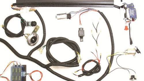 Golf Cart Universal Turn Signal Switch Wire Harness Kit Club Car Yamaha Ezgo Ez
