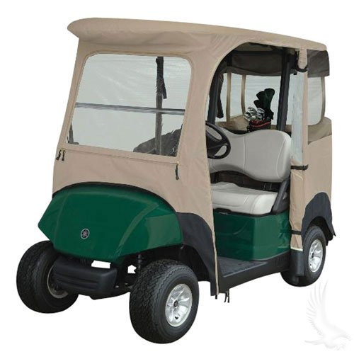 Drivable Enclosure With Zip Off Windshield Yamaha Drive Golf Cart Store