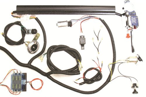 golf cart universal turn signal switch wire harness kit. Black Bedroom Furniture Sets. Home Design Ideas